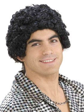 Disco Days Short Afro Wig