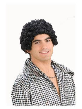 Disco Short Afro Wig Adult
