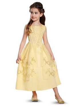 Disney Beauty and the Beast - Belle Ball Gown Classic Child Costume