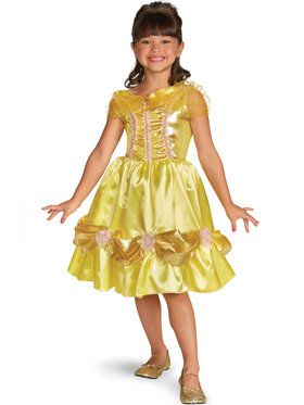 Disney Belle Sparkle Classic Childrens Costume