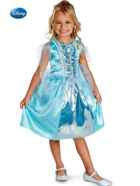Disney Cinderella Sparkle Classic Childrens Costume