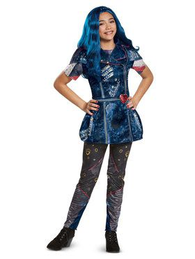 Girl's Descendants Evie Costume