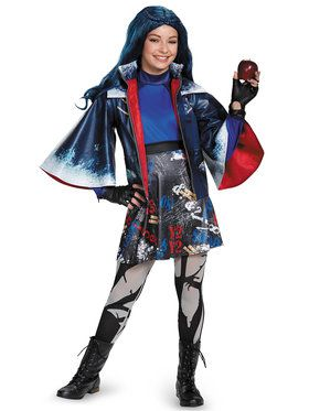 Disney Descendants Evie Prestige Girl's Costume
