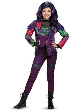 Disney Descendants Mal Prestige Girl's Costume