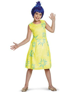 Disney Inside Out - Classic Joy Costume For Children
