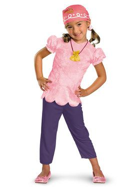 Disney Jake and the Never Land Pirates Izzy Classic Toddler Costume