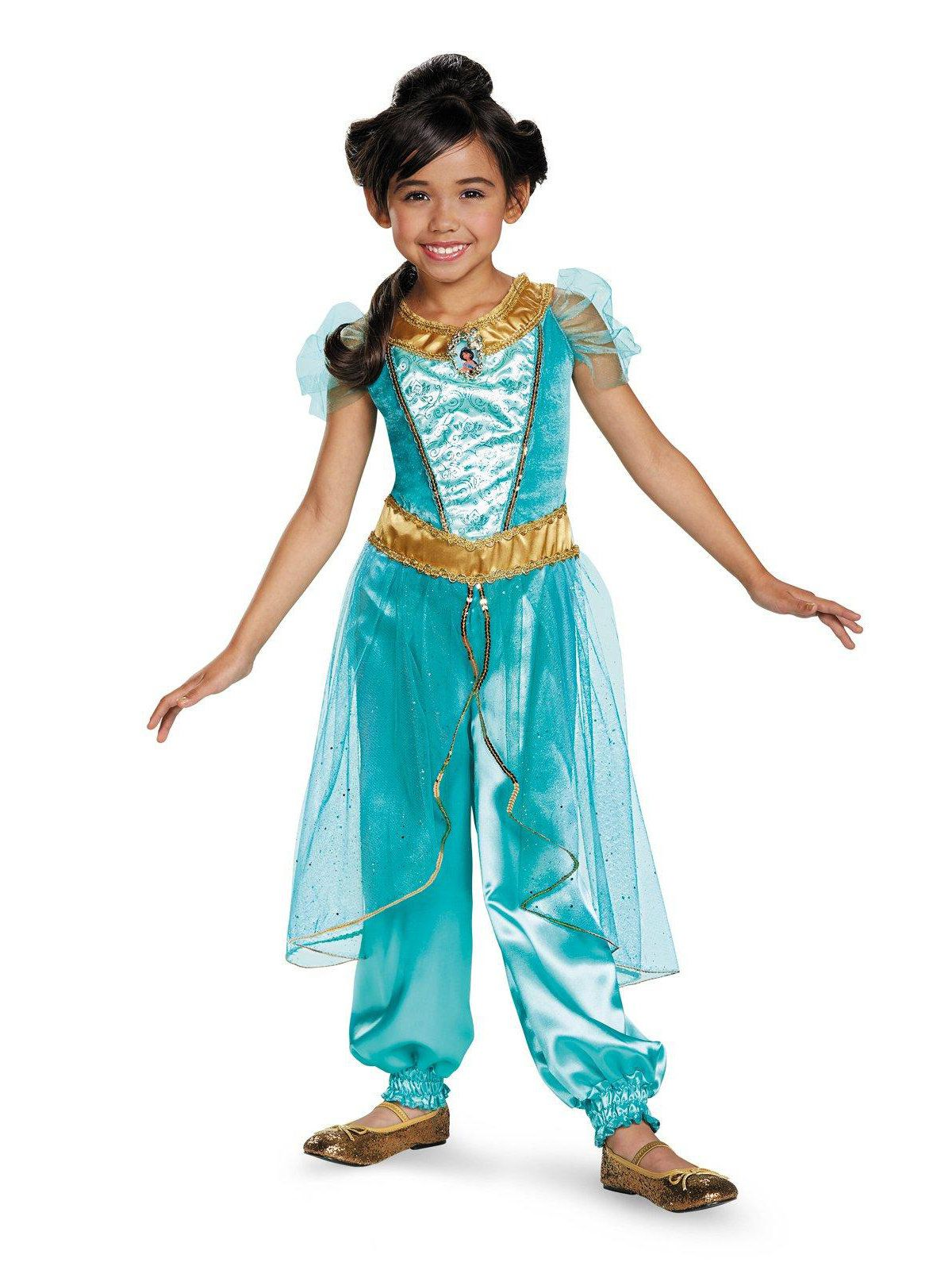 57d24cc24 Disney Jasmine Deluxe Sparkle Costume For Toddlers - Baby/Toddler ... princess  jasmine
