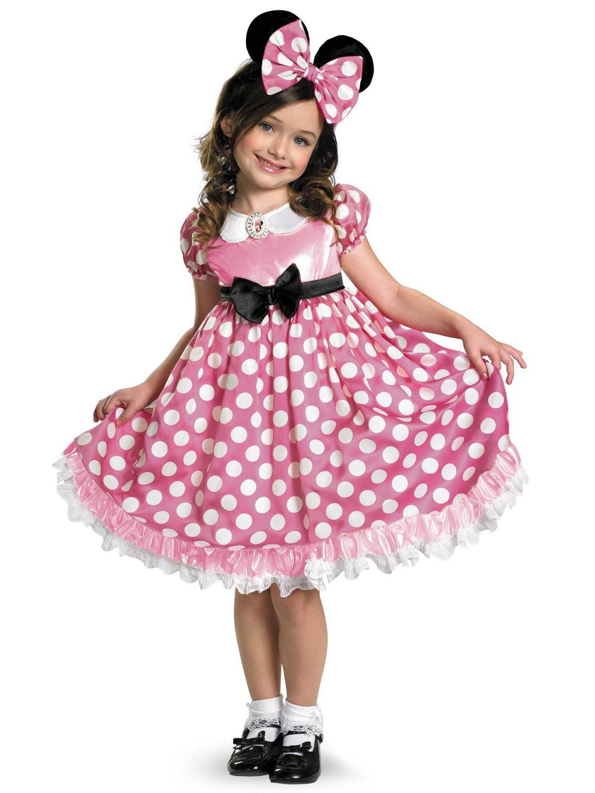 Disney Mickey Mouse Clubhouse Pink Minnie Mouse Glow in the Dark Costume For Children  sc 1 st  Wholesale Halloween Costumes & Disney Mickey Mouse Clubhouse Pink Minnie Mouse Glow in the Dark ...