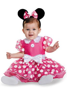 Disney Pink Minnie Prestige Costume Infant