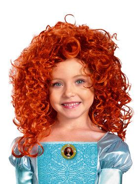 Disney Pixar's Brave Merida Wig Child