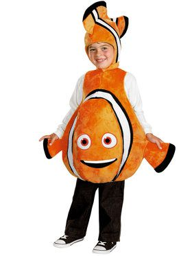 Disney Pixar's Finding Dory Deluxe Nemo Child Costume