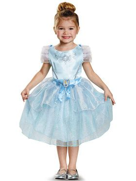 Disney Princess Cinderella Classic Costume For Girls