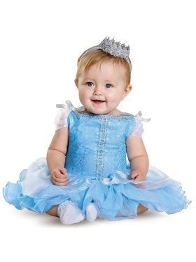 Disney Princess Cinderella Prestige Costume For Babies
