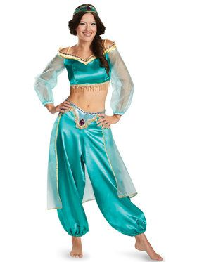 Disney Princess Jasmine Fab Prestige Costume For Teens