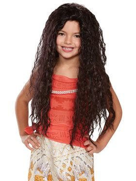 Disney Princess Moana Deluxe Child Wig