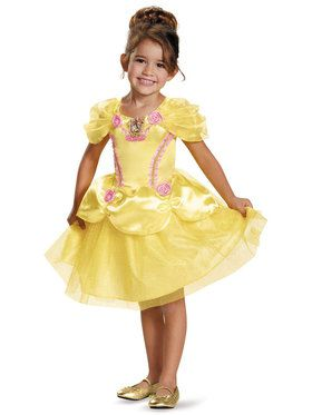 Disney Princess Belle Classic Costume For Toddlers