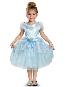 Disney Princess Cinderella Classic Costume For Toddlers