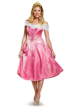 Disney Princess Deluxe Aurora Costume For Women