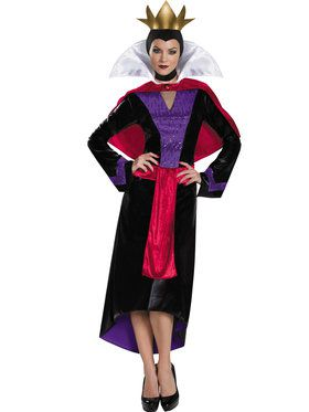 Disney Snow White Evil Queen Deluxe Womens Costume
