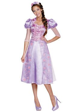 Disney Tangled Rapunzel Deluxe Womens Costume