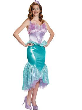 Disney The Little Mermaid Ariel Deluxe Womens Costume