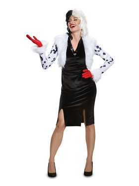 Disney Villains Deluxe Cruella De Vil Adult Costume