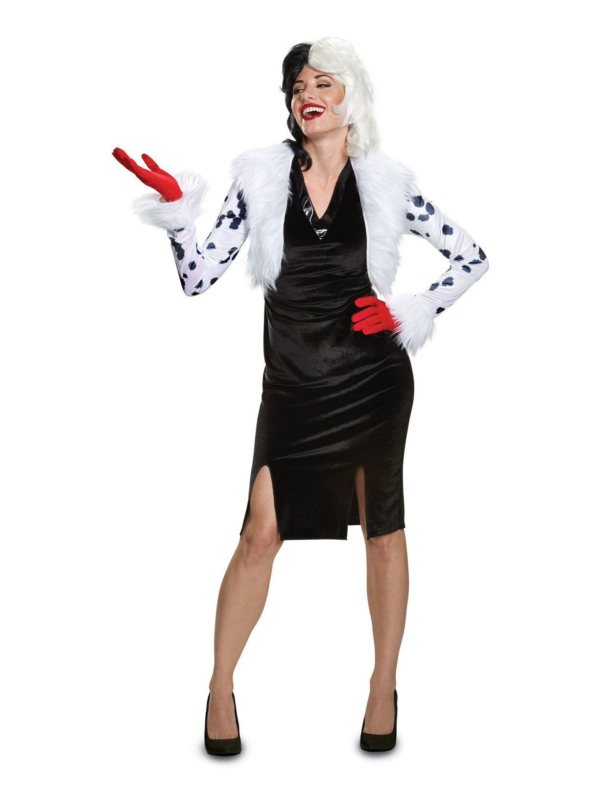 Disney Villains Deluxe Cruella De Vil Adult Costume - Womens