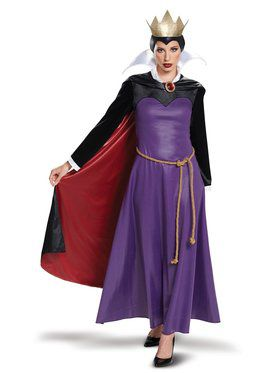Disney Villains Deluxe Evil Queen Adult Costume
