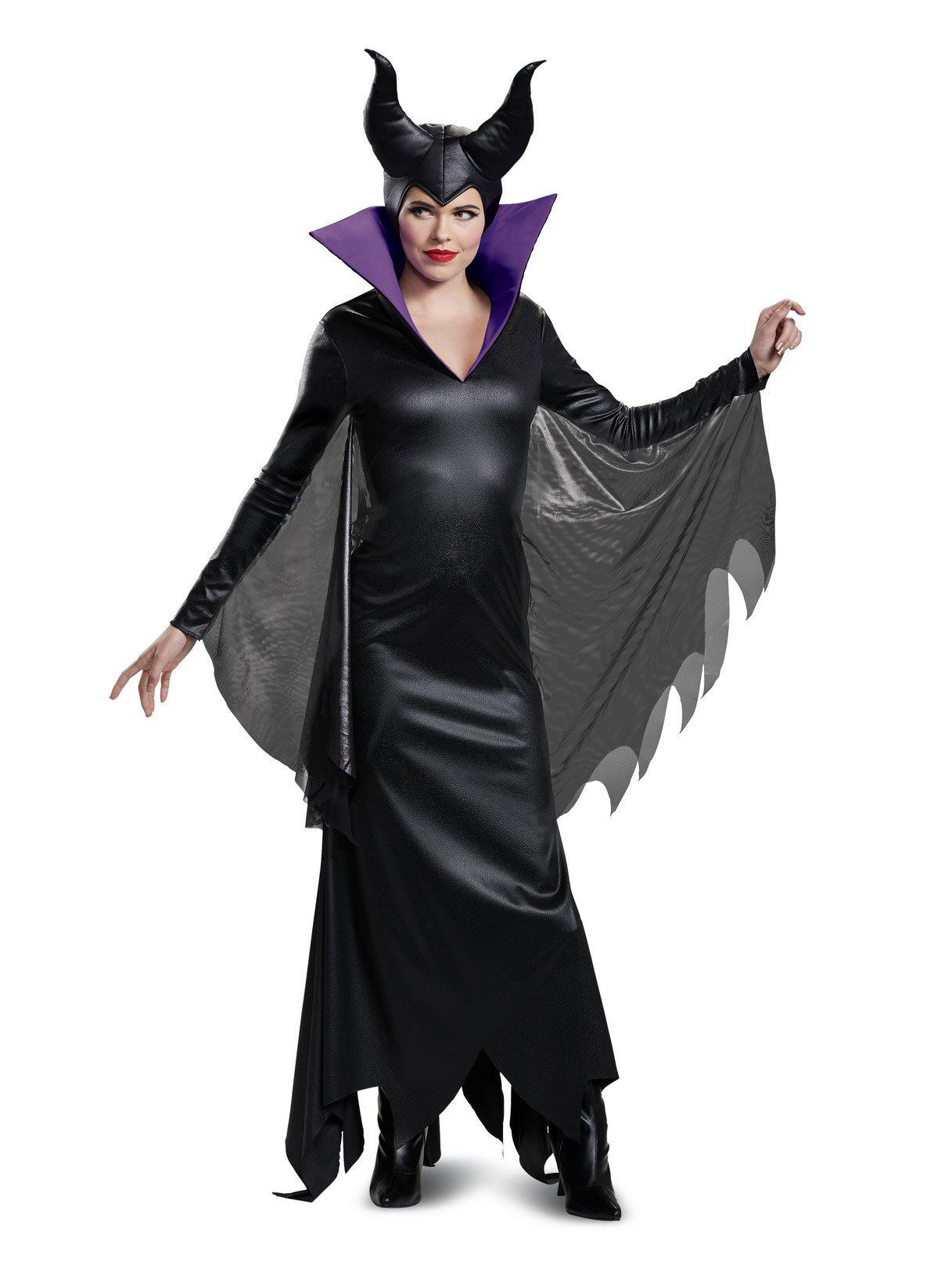 Deluxe Adult Maleficent Disney Villains Costume - Womens