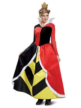Disney Villains Deluxe Queen of Hearts Adult Costume