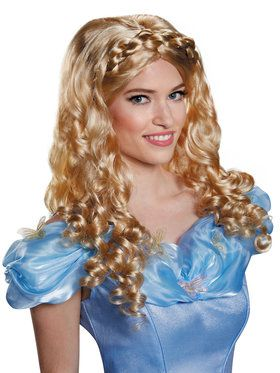 Disney's Adult Cinderella Movie Wig