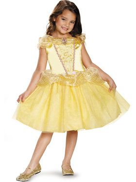 Disney's Beauty and the Beast Belle Classic Girls Costume