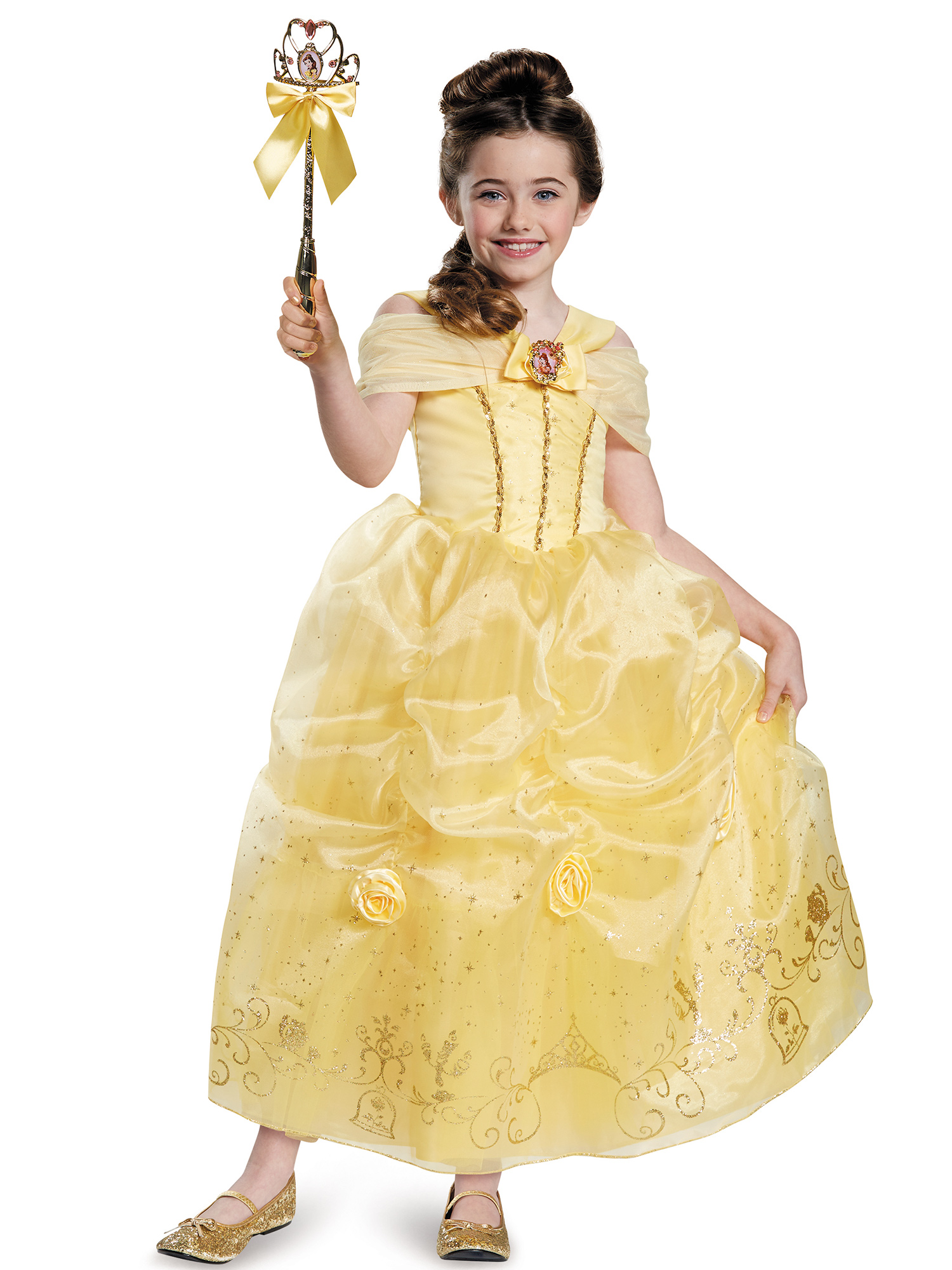 Disguise Inc Authentic Belle Costume - Girls