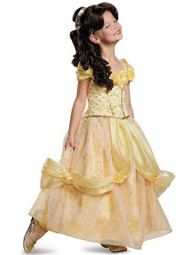 Disney's Beauty and the Beast Belle Ultra Prestige Girl's Costume
