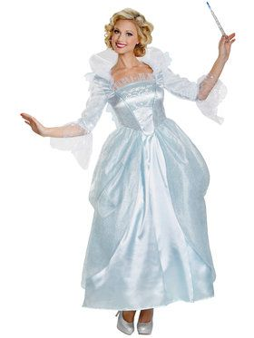 Disney's Cinderella Movie Fairy Godmother Prestige Women's Costume