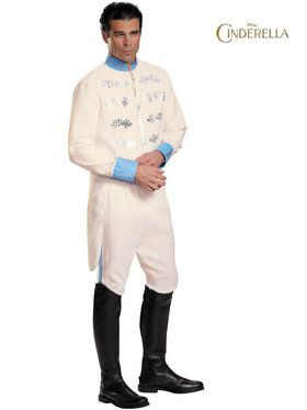 Disney's Cinderella Movie Prince Deluxe Men's Costume