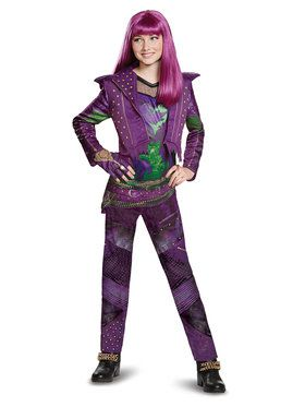 Disney's Descendants 2: Mal Deluxe Isle Look Child Costume