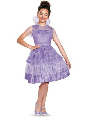 Disney's Descendants: Girls Deluxe Mal Coronation Costume