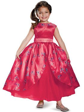 Disney's Elena of Avalor Ball Gown Deluxe Youth Costume