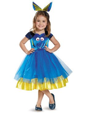 Disney's Finding Dory Tutu Deluxe Costume Toddler