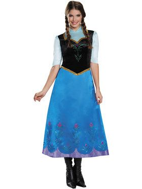 Disney's Frozen Anna Traveling Deluxe Womens Costume