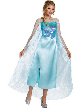 Disney's Frozen Elsa Deluxe Women's Costume