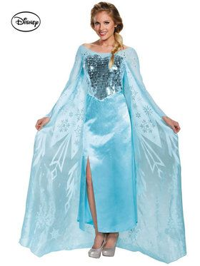 Disney's Frozen Elsa Ultra Prestige Women's Costume