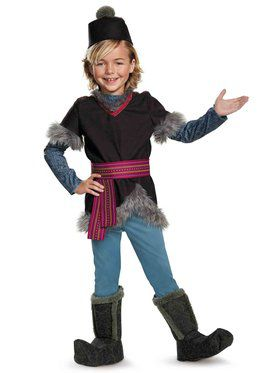 Deluxe Child Kristoff Costume - Disney Frozen