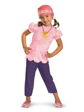 Disney's Jake and the Neverland Pirates Classic Izzy Kids Costume