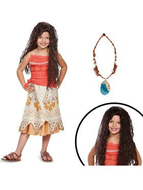 Disneys Moana Childrens Classic Costume Kit