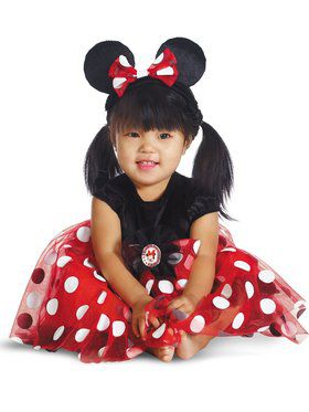 Disney's Red Minnie Costume Infants