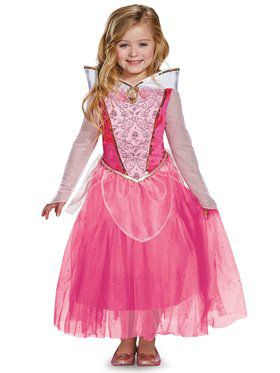 Disney's Sleeping Beauty Aurora Deluxe Girls Costume
