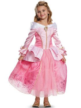 Disney's Sleeping Beauty Aurora Prestige Girls Costume