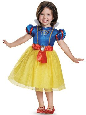Disney Princess Classic Snow White Costume For Toddlers